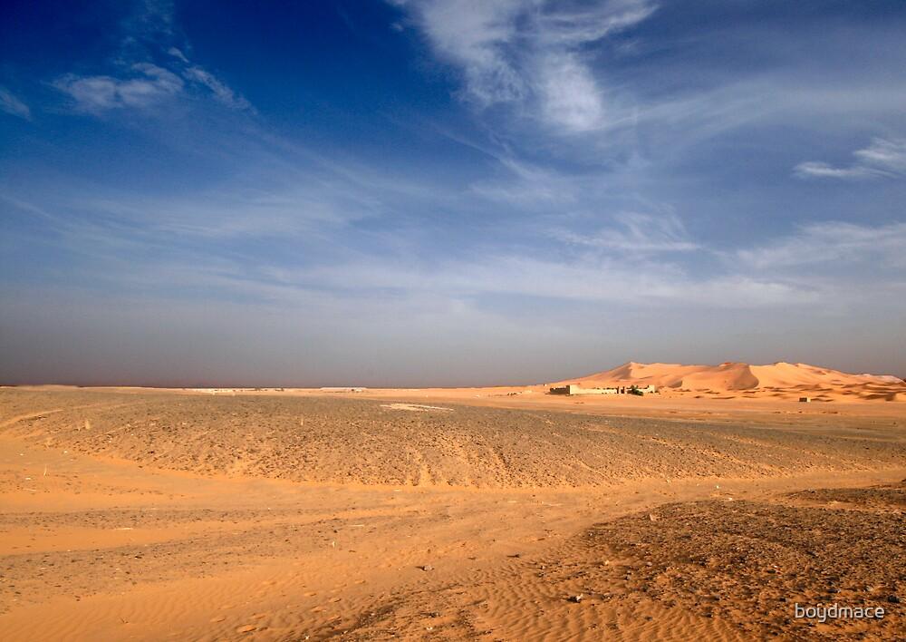 Edge of the Sahara Desert Morocco by boydmace