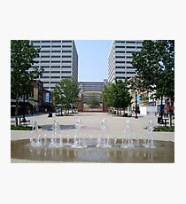 Market Square Knoxville Tennessee (color) Photographic Print
