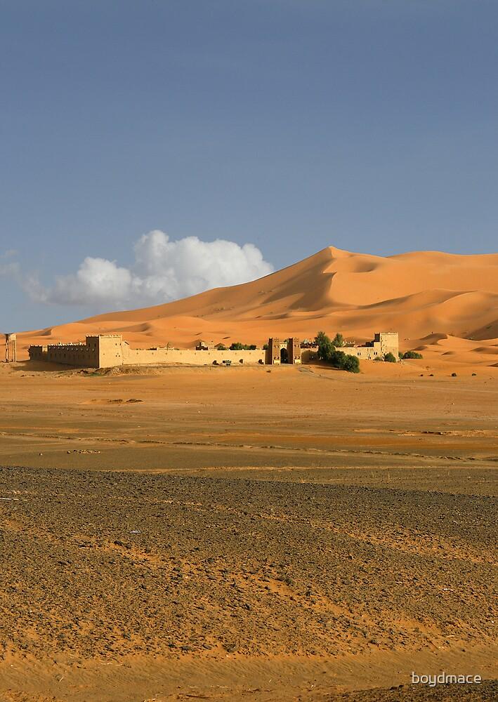 A Kasbah In the Sahara by boydmace