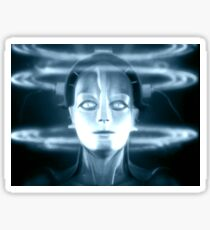 The Android Maria from Fritz Lang's Metropolis Sticker