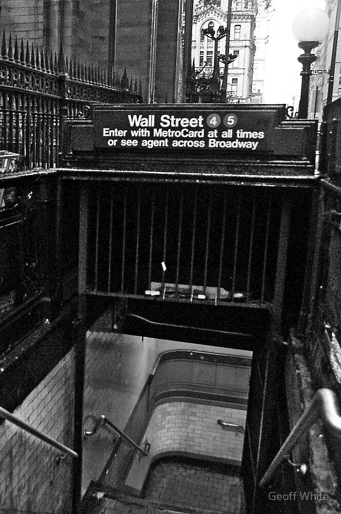 Wall Street Station by Geoff White