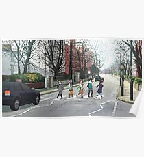 Abbey Road - K-ON! Poster