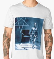 Robotic false Maria from Fritz Lang's Metropolis  Men's Premium T-Shirt