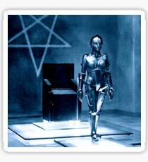 Robotic false Maria from Fritz Lang's Metropolis  Sticker