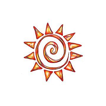 Spiral Sun by debart