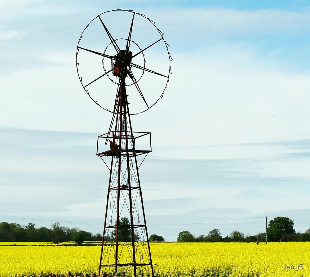 Old Windmill by JerryS