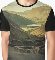 Scotland landscapes at the sunset Graphic T-Shirt