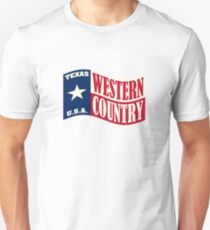 Texas USA Western Country Music Unisex T-Shirt