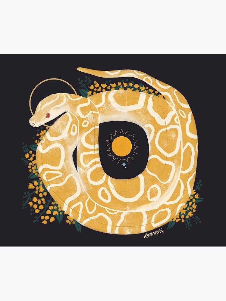 Familiar - Burmese Python by straungewunder