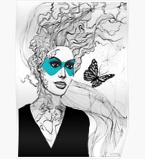BUTTERFLY LADY - URBAN WARRIORS Poster