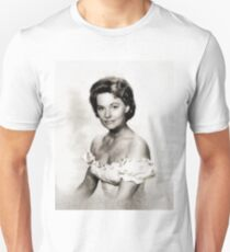 Lola Albright, Vintage Actress by John Springfield Unisex T-Shirt