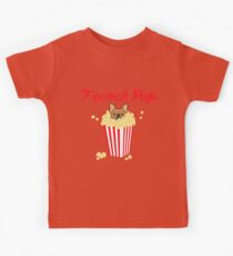 French Pop by Frenchie Love Kids Tee