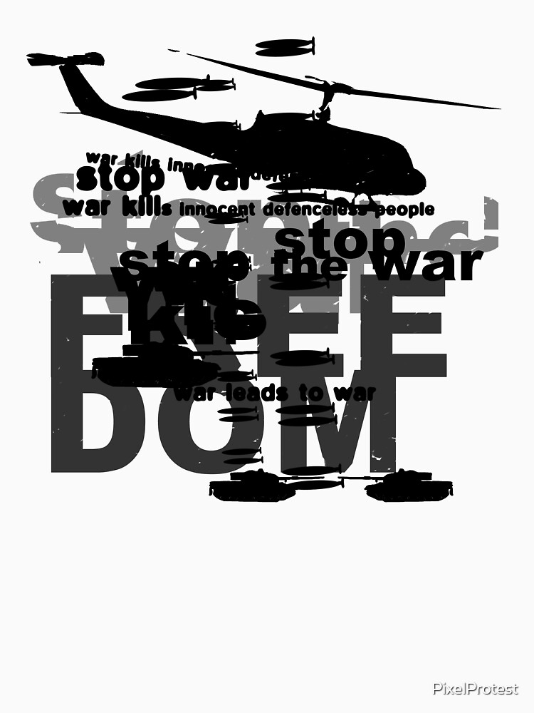 Stop the War by PixelProtest