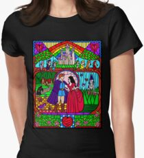 Snow White and the Seven Dwarfs Womens Fitted T-Shirt