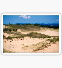 Sleeping Bear Sand Dunes Sticker