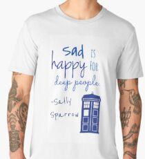 Sad is Happy for Deep People Men's Premium T-Shirt