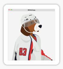 Beagle.jpg Sticker