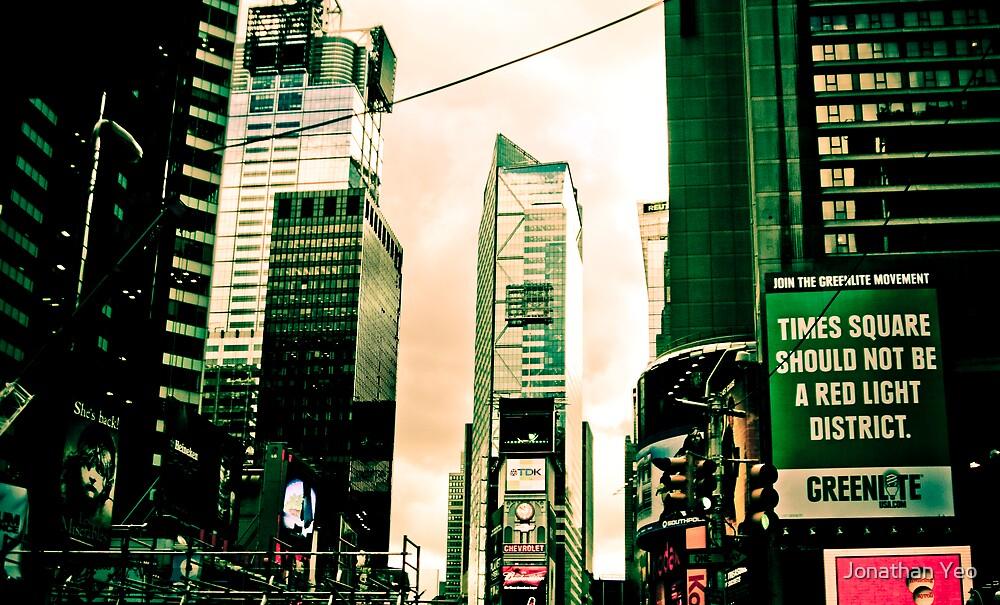 New York City 2 by Jonathan Yeo
