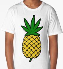 Pineapple Weed Leaf (Fold Up) Shirt Long T-Shirt