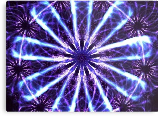 Purple Daisies by KimSyOk