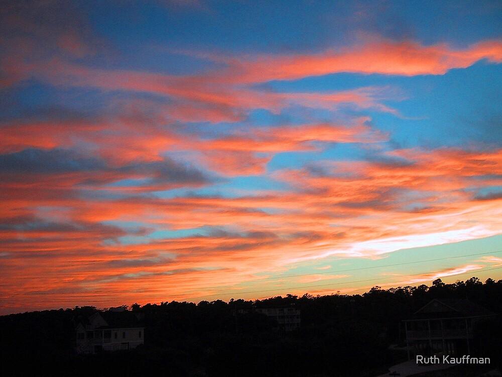 """Sunset Over Kure Beach"" by Ruth Kauffman"