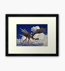 Music in the Clouds Framed Print
