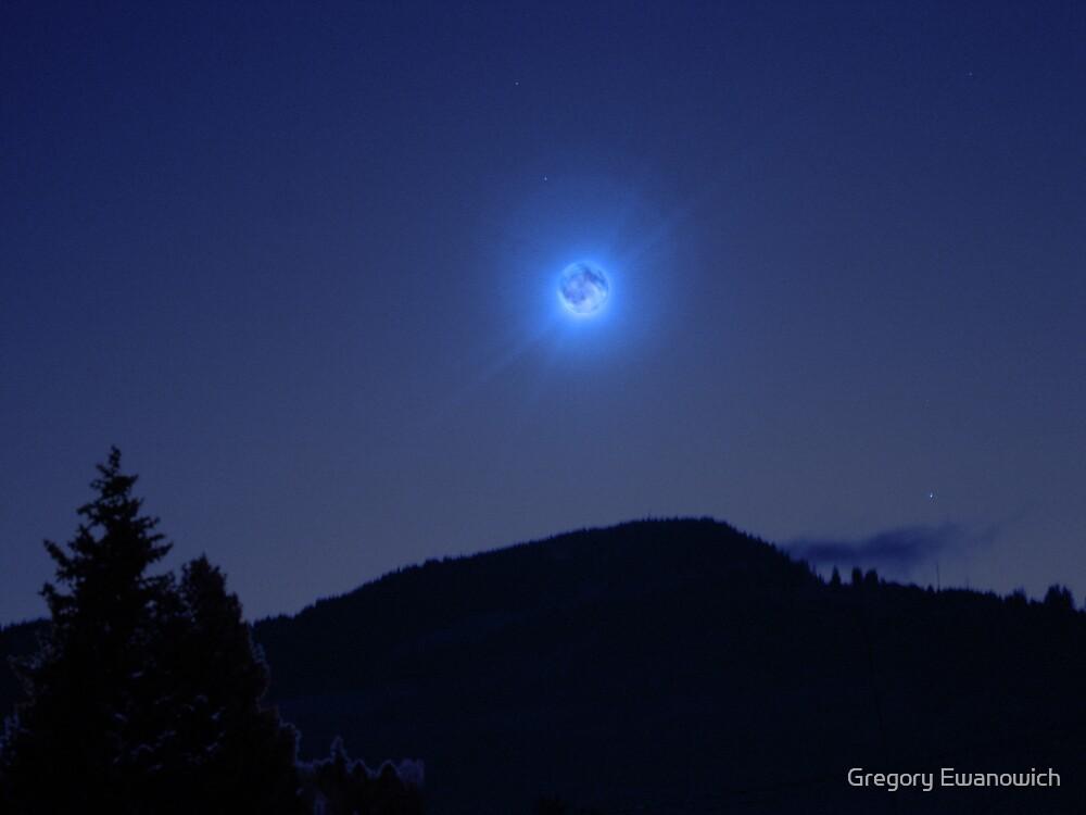 Blue Moon by Gregory Ewanowich