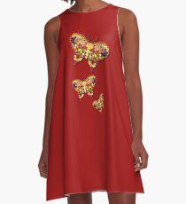 Vegan Butterfly - Schmetterlinge A-Line Dress