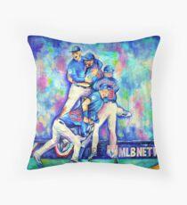 Go Cubs Go Throw Pillow