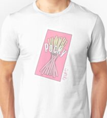 Cute Pocky Design Unisex T-Shirt