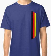 German flag colors stripes V2 Classic T-Shirt