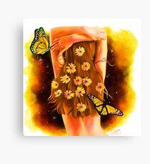 Divine Feminine 4 ( Sacred Art of Self Decoration ) Canvas Print