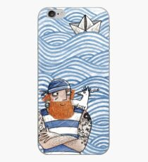 Seemann mit Seehund - Seaman With Seadog iPhone-Hülle & Cover