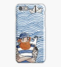 Seemann mit Seehund - Seaman With Seadog iPhone Case/Skin
