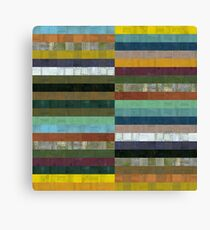 Wooden Abstract lX Canvas Print