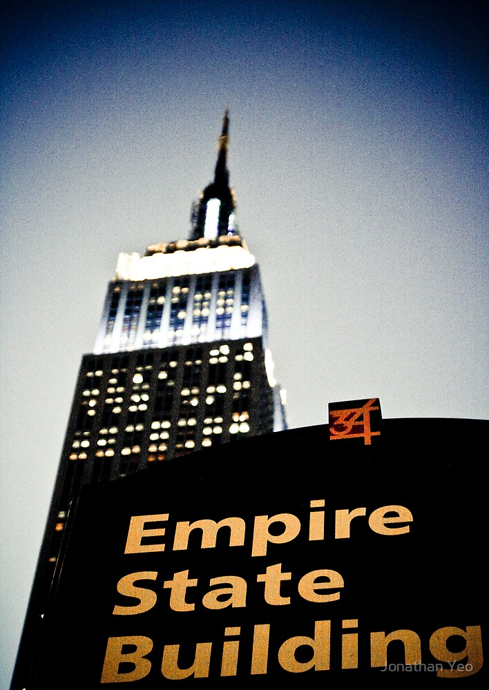 Empire State Building by Jonathan Yeo