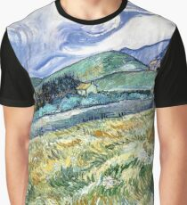 Landscape from Saint-Remy Graphic T-Shirt