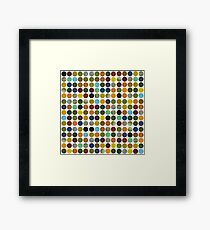 Rustic Rounds 125 Framed Print