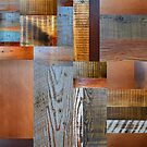 Reclaimed Wood Abstract 2.0 by Michelle Calkins