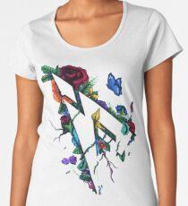 Pamaj Austin Flower Logo Women's Premium T-Shirt