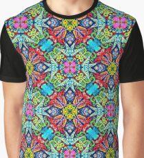 alice in wonderland , cartoon seamless pattern background Graphic T-Shirt