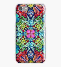 alice in wonderland , cartoon seamless pattern background iPhone Case/Skin