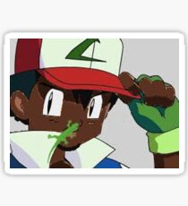 Black Ash Ketchum Sticker