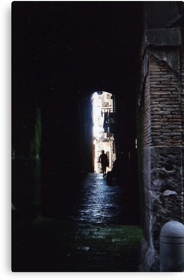 Alley In Naples by Adam Irving