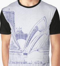 Sydney Opera House Graphic T-Shirt
