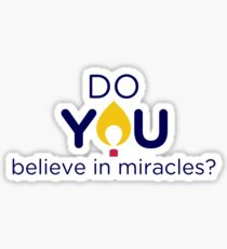 Miracles Sticker