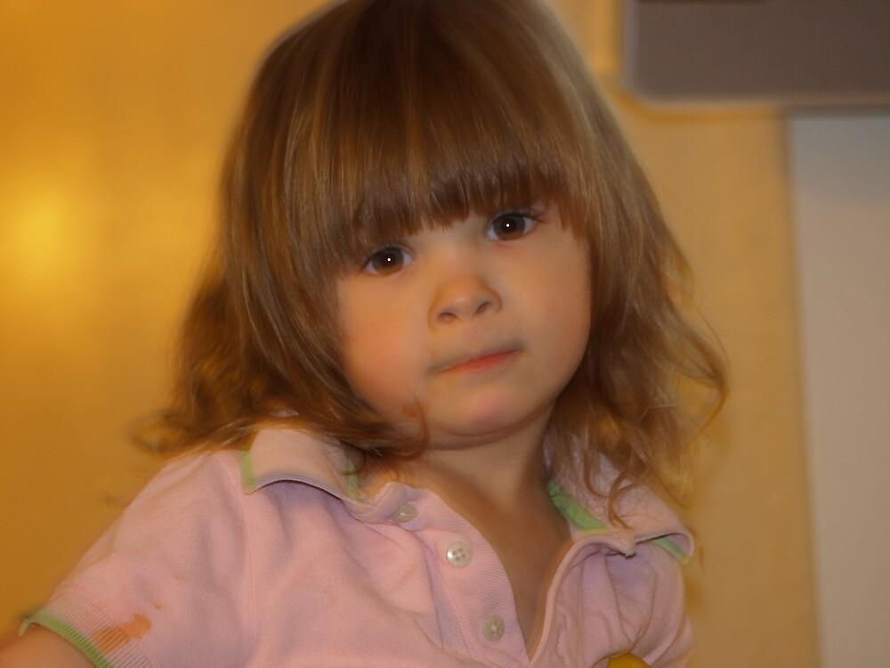 Fussy Little Girl by cioffifresno