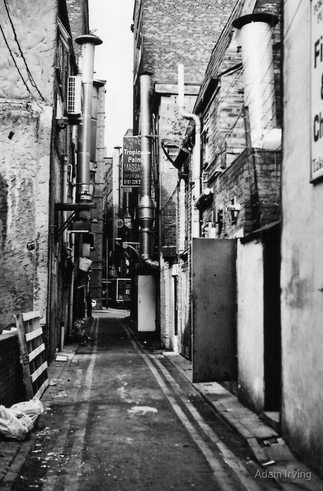 China Town Backstreet, Manchester by Adam Irving