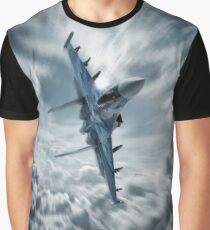 Sukhoi SU35 Graphic T-Shirt
