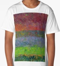 Abstract Landscape Series - Blue Waters Long T-Shirt